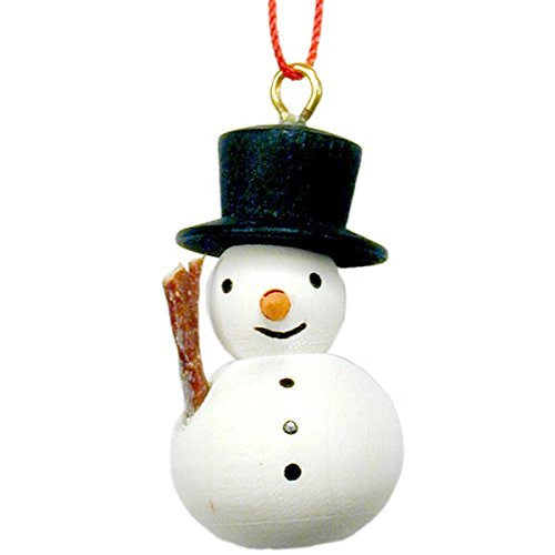 ULBR 10-0866 Christian Ulbricht Ornament – Snowman with Broom