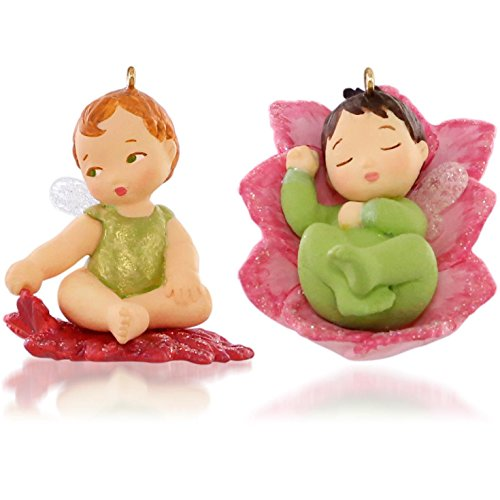 Keepsake Christmas Ornaments Lotus & Poinsetta