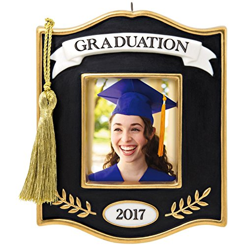 Hallmark 1595QHX1055 Graduation Photo Holder Keepsake Christmas Ornaments