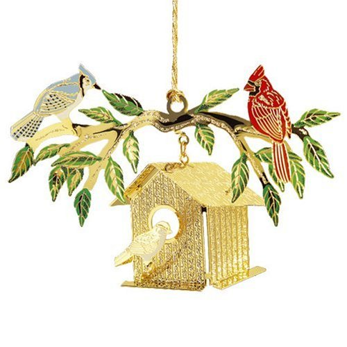 Baldwin Bird House  Ornament