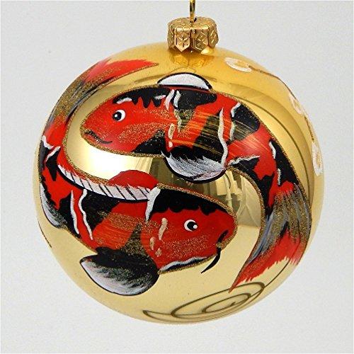 Japanese Koi – Polish Blown Glass Ornament