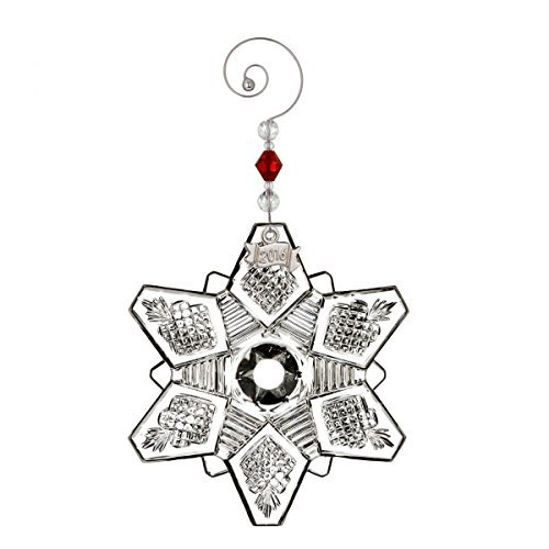 Waterford Waterford 2016 Annual Snow Crystal Pierced Christmas Ornament by Waterford