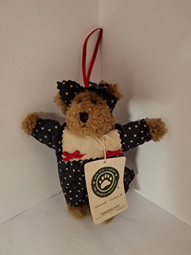 Boyds Bear Plush Ornament Josanna Java