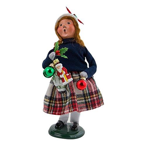 Byers' Choice Ornament Girl #4473B