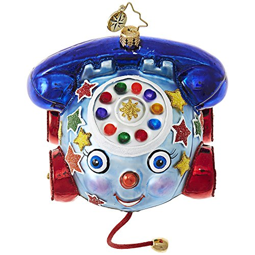 Christopher Radko Dial Up Some Fun Packages & Gifts Christmas Ornament