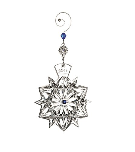 Waterford Crystal 2017 Snowflake Wishes for Friendship Ornament