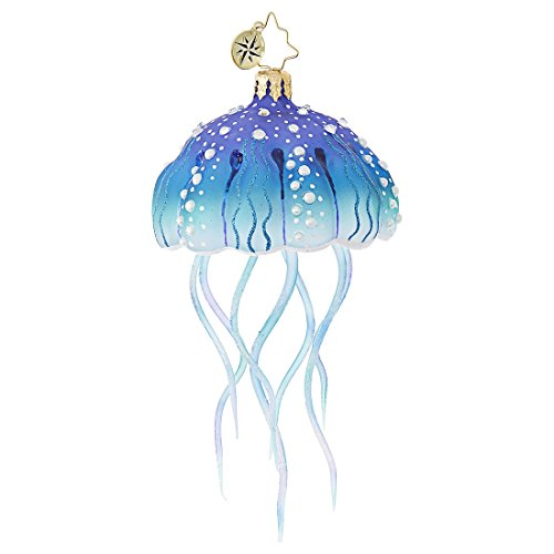 Christopher Radko Jellyfish Joy Surf & Sun Christmas Ornament