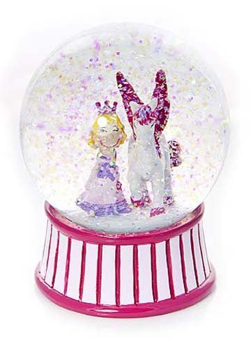 Cute Princess and Unciorn Snow Globe Gift for Girls