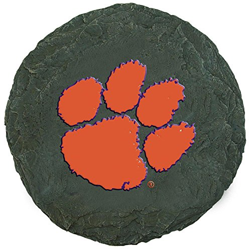 Team Sports America Clemson Tigers Decorative Garden Stone