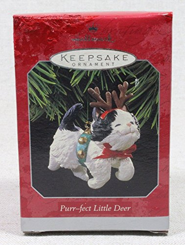 HALLMARK KEEPSAKE ORNAMENT PURR-FECT LITTLE DEER