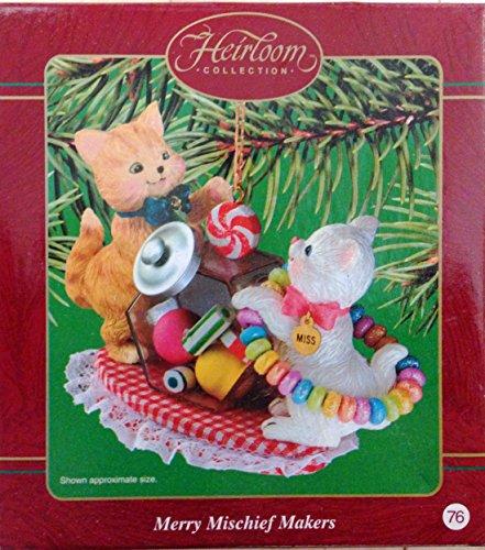 Merry Mischief Makers Heirloom Christmas Ornament