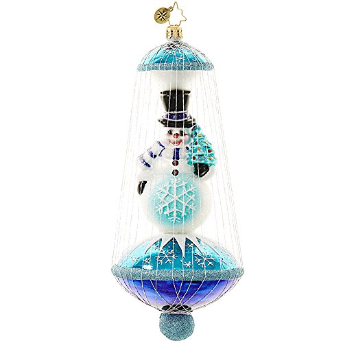 Christopher Radko Imperial Frost Christmas Ornament
