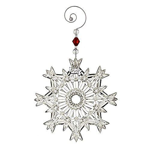 Waterford Annual Snowcrystal Pierced Ornament