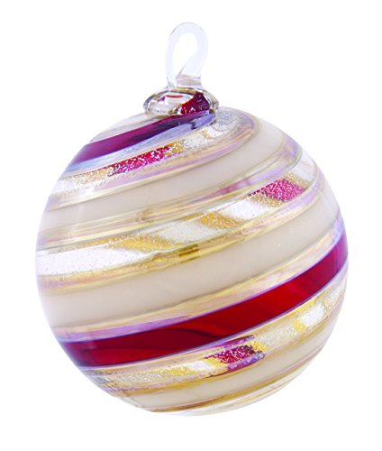 Glass Eye Studio Cranberry Delight Limited Edition Ornament Boxed