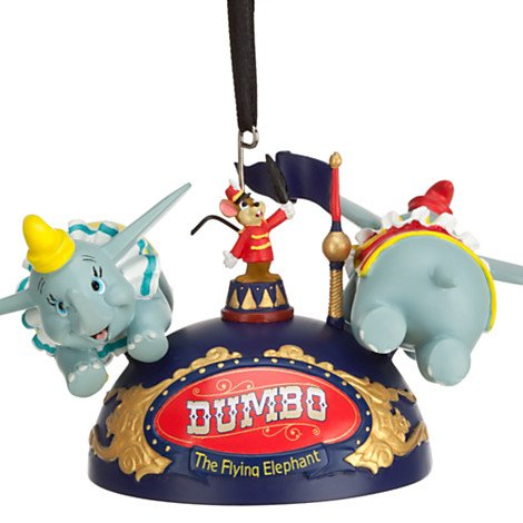 Disney Parks Dumbo Ride Attraction Mickey Mouse Ears Hat Ornament NEW RELEASE
