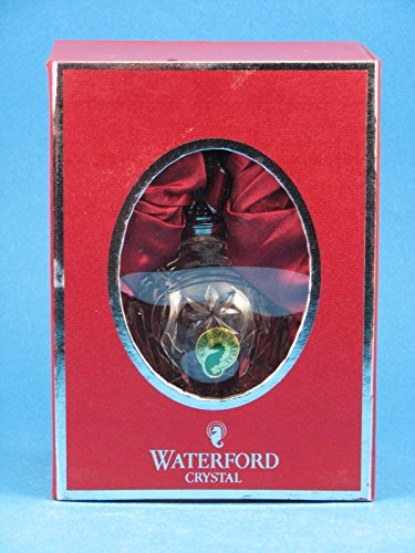 Waterford Lismore Crystal 2012 Ball Ornament