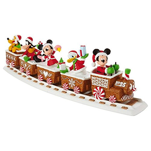 2016 Disney Christmas Express Hallmark Train Complete Set of 5