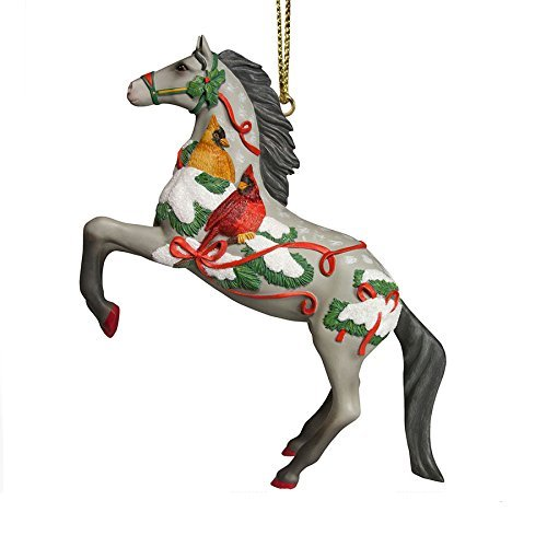 Enesco Trail of Painted Ponies Song of The Cardinal Ornament, 3.2 by Enesco