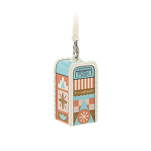 "Disney ""it's a small world"" Trash Can Ornament"