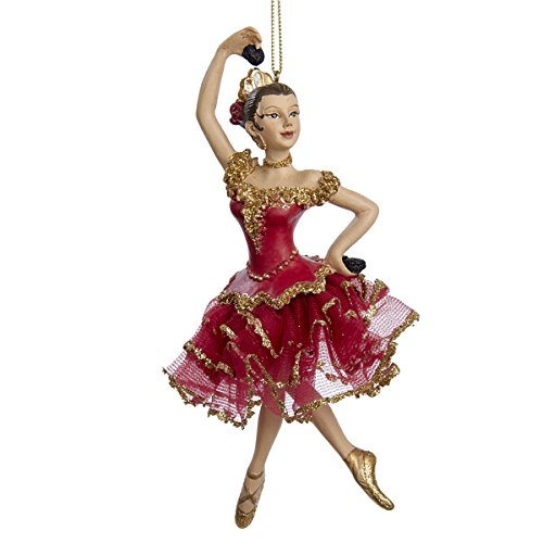 Kurt Adler Resin Spanish Dancer Ornament