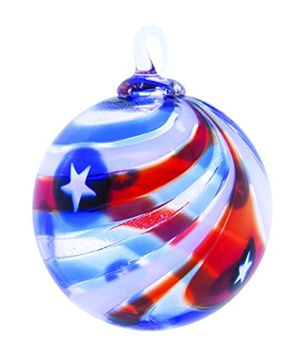 Glass Eye Studio Yankee Doodle Patriotic Ornament Limited