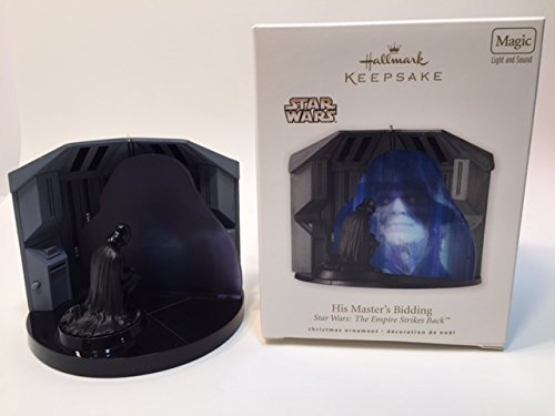 Hallmark 2010 His Masters Bidding Star Wars Ornament