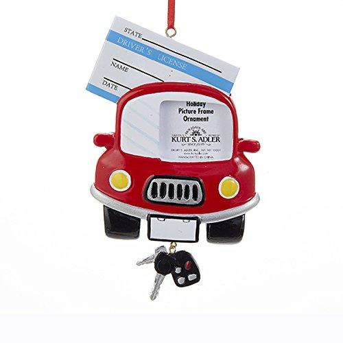 Kurt Adler Drivers License Picture Frame Ornament