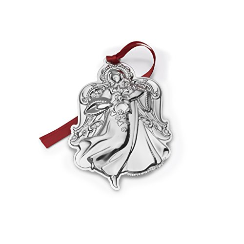Wallace 2017 Sterling Silver Grand Baroque Angel Ornament, 17th Edition