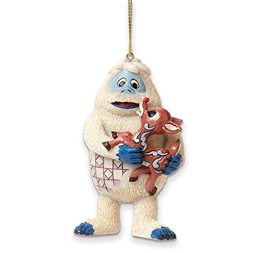 Rudolph Jim Shore Bumble and Rudolph Ornament