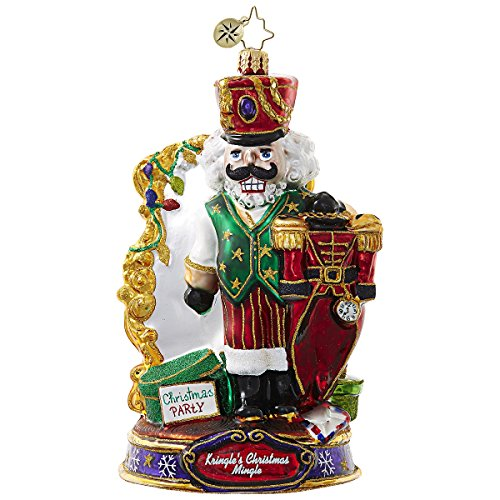 Christopher Radko What Should I Wear Nutcracker Kringle's Christmas Mingle Ornament
