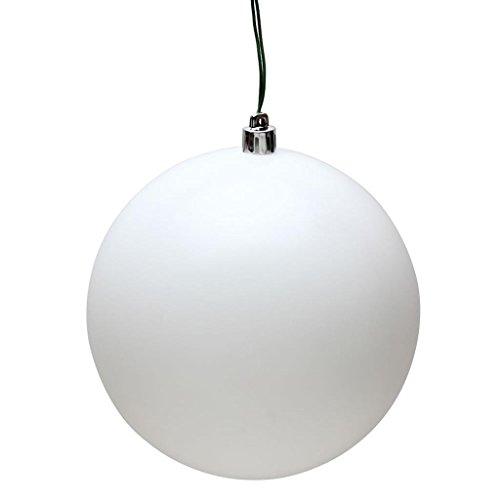 Vickerman 490297 – 3″ White Matte Finish Ball Christmas Tree Ornament (32 pack) (N596811M)