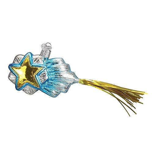 Old World Christmas 22035 Shooting Star Glass Blow Christmas Ornament Shooting Star