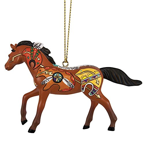 Trail of Painted Ponies by Enesco Spirit Bear Ornament