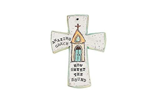 Glory Haus Chapel Amazing Grace Cross, 5 x 7″