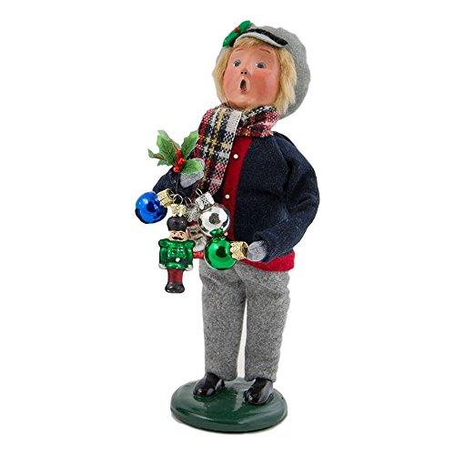 Byers' Choice Ornament Boy #4474B