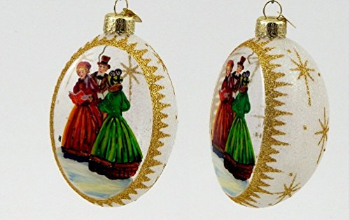 Old World Christmas – Christmas Carolers – Inside Art Ornament