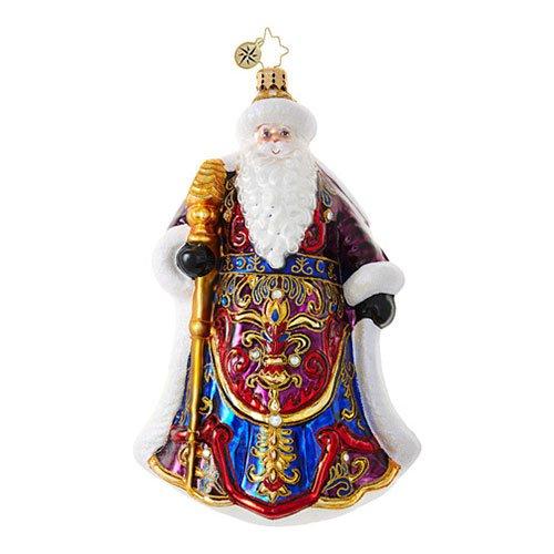 Christopher Radko Santa's Christmas Cape Santa Claus Christmas Ornament