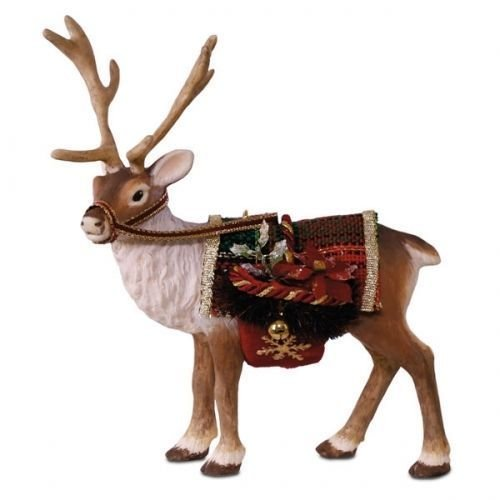 Hallmark 2017 Reindeer Father Christmas Limited Edition Ornament