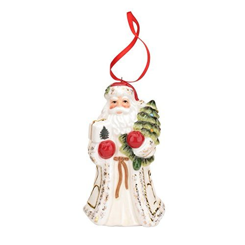 Spode Christmas Tree Ornament, Santa by Spode