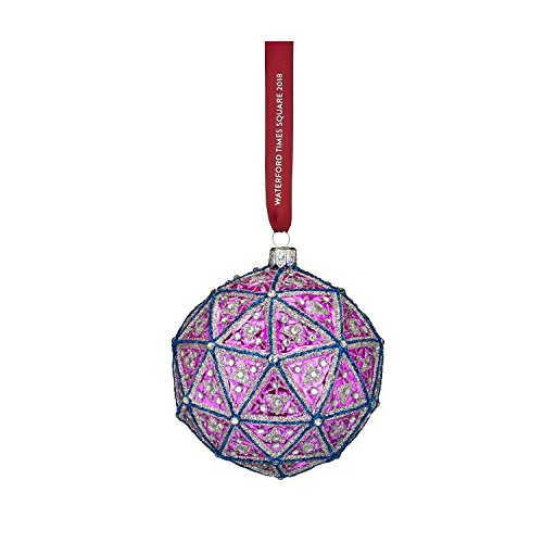Waterford Crystal 2018 Times Square Gift of Serenity Replica Ball Christmas Ornament