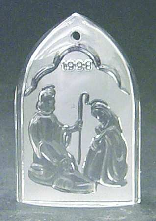 Waterford 1998 Nativity Collection, Holy Family, 1st Edition
