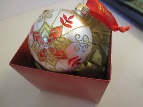 Waterford Elements Star Ball Christmas Ornament