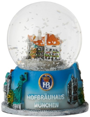 Hofbrauhaus Munchen Munich Germany Beer Hall Christmas Snowglobe Water Globe