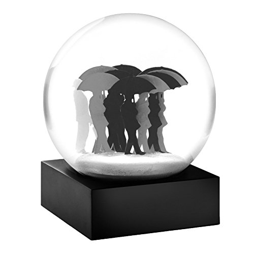 Umbrella Men Snow Globe by CoolSnowGlobes