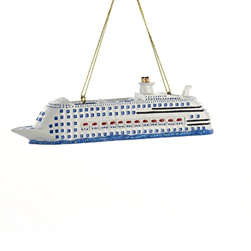 Kurt Adler Cruise Ship Christmas Ornament