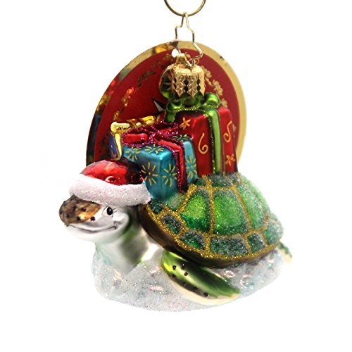 Christopher Radko Under the Sea Little Gem Animal Christmas Ornament by Christopher Radko