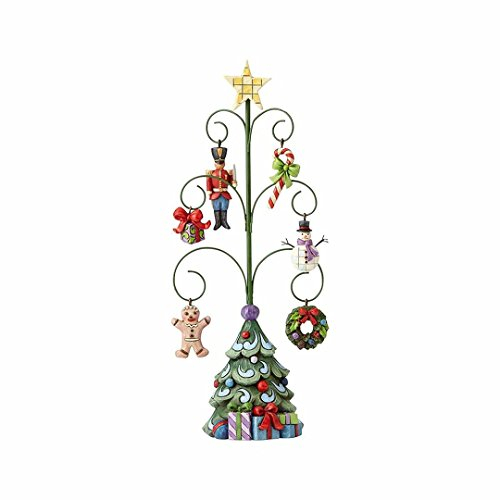 Enesco Jim Shore Heartwood Creek Christmas Tree/6 Mini Ornaments