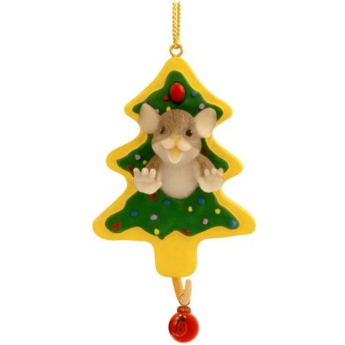 Charming Tails Hanging Ornament – Have Fun Working Thru The Holiday Sweets by Enesco