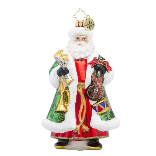 Christopher Radko Conductor Claus Santa Claus Christmas Ornament