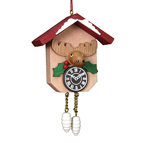 Christian Ulbricht Holiday Character Cuckoo Clock Christmas Ornament